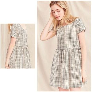 Urban Outfitters Yarn-Dyed Babydoll Dress